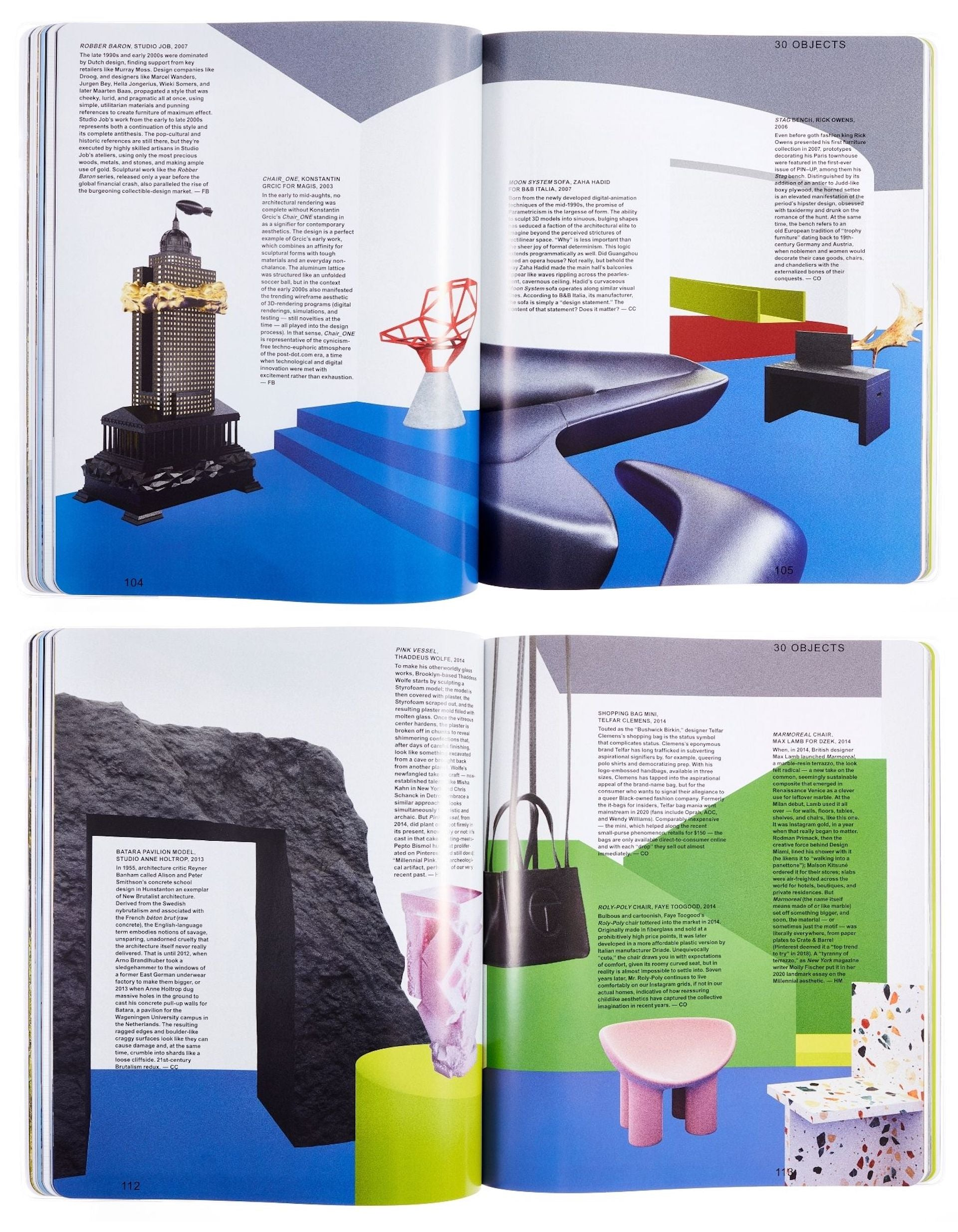 Curated by Felix Burrichter and Camille Okhio, 30 Objects is a virtual survey show about design in the first two decades of the 21st century. Renderings by Rubén Gutierrez Martín. Art Direction by Felix Burrichter and Office Ben Ganz. Photos © PIN-UP
