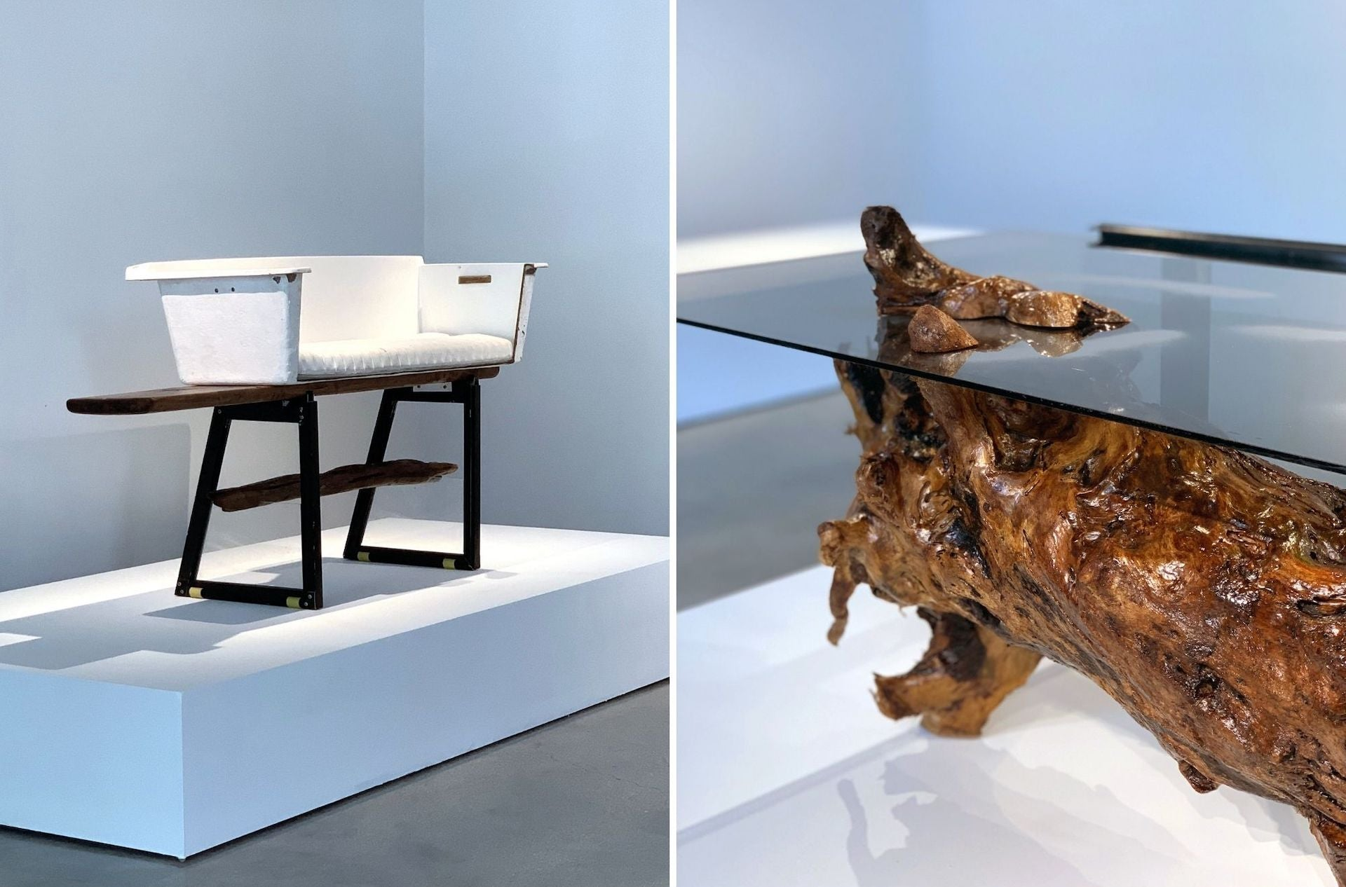 33.3 Pounds Chair and 37.3 Pounds Table by Quinaz Studio, 2021. Photo © Quinaz Studio