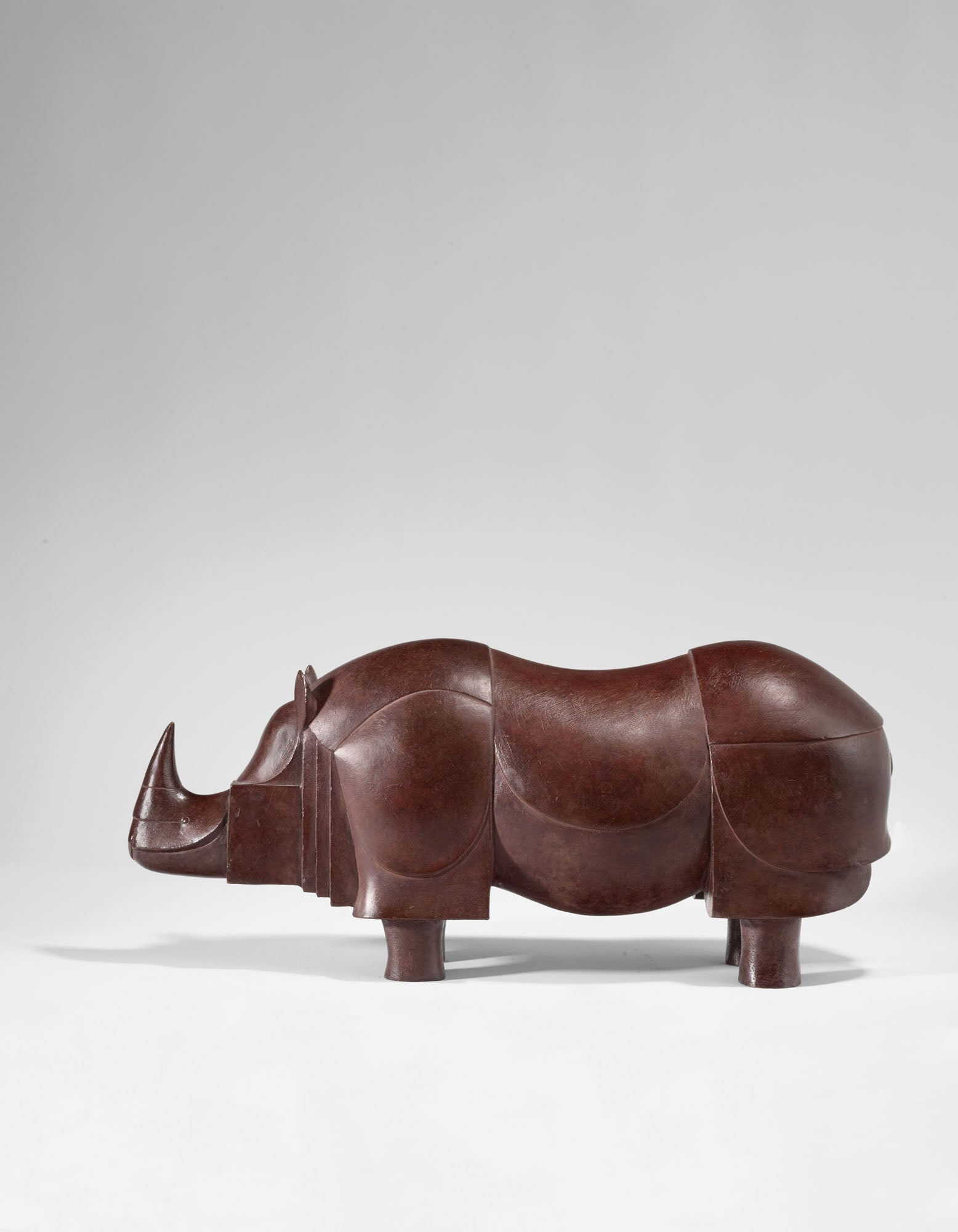 Rhinocéros IV (1990) by François-Xavier Lalanne sold at Christie's Paris in June for €430,000. Photo © Christie's Images Ltd. 2020
