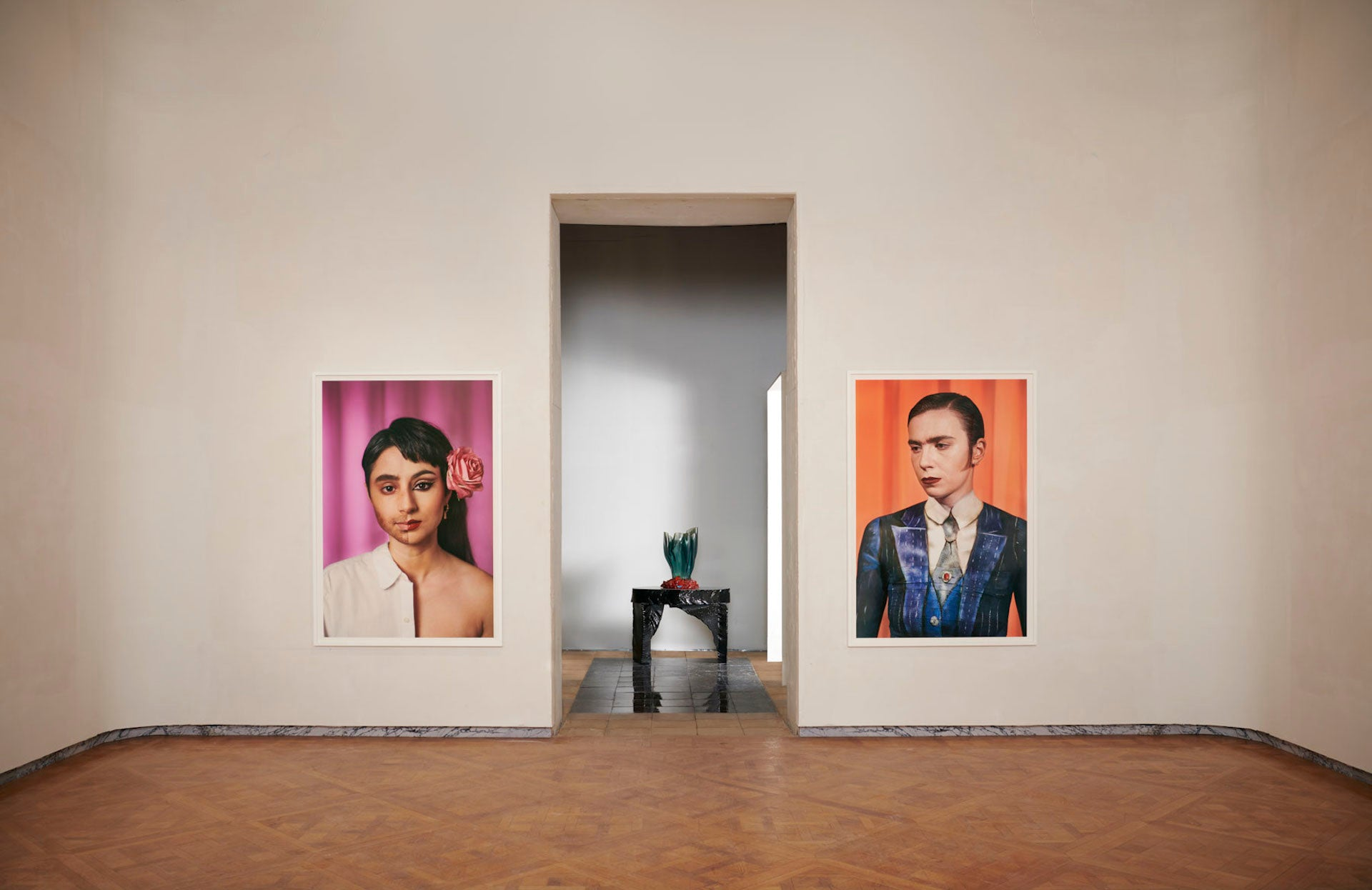 Work by Laurie Simmons and Gaetano Pesce at Salon 94. Photo courtesy of Salon 94