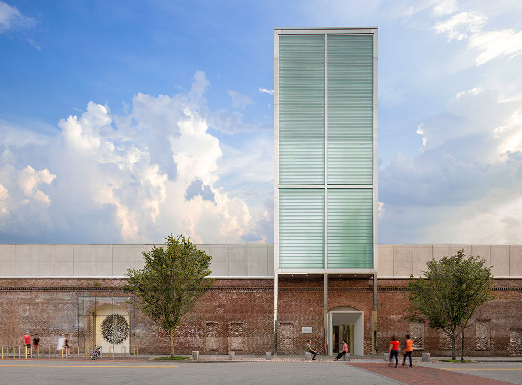The SCAD Museum of Art's brick structure was built in 1853, with renovations 2010-11. Photo © SCAD