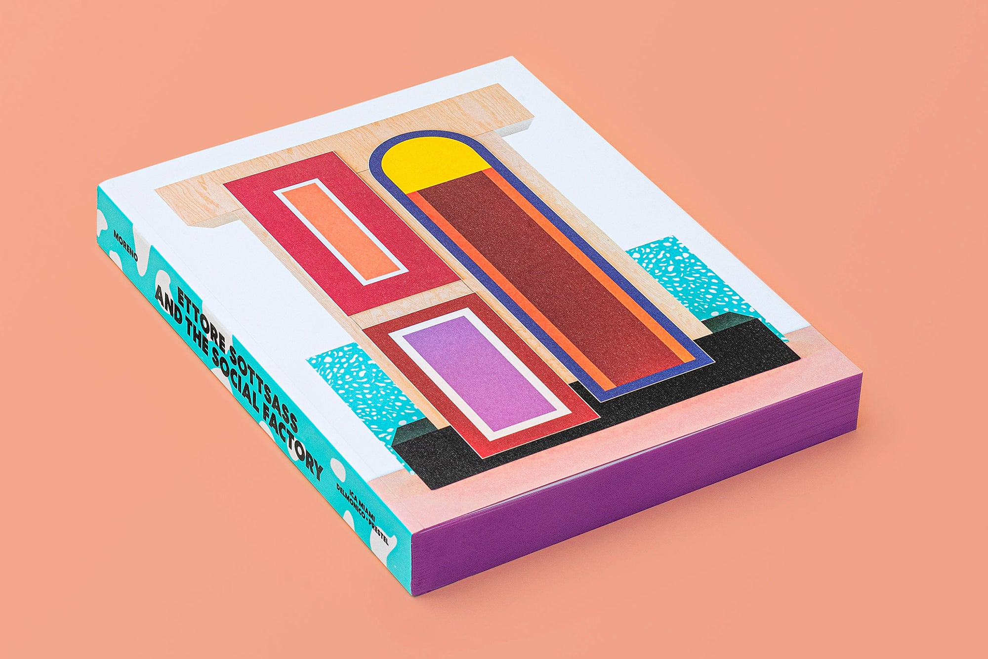 Ettore Sottsass and the Social Factory catalogue. Photo © Breanne Furlong