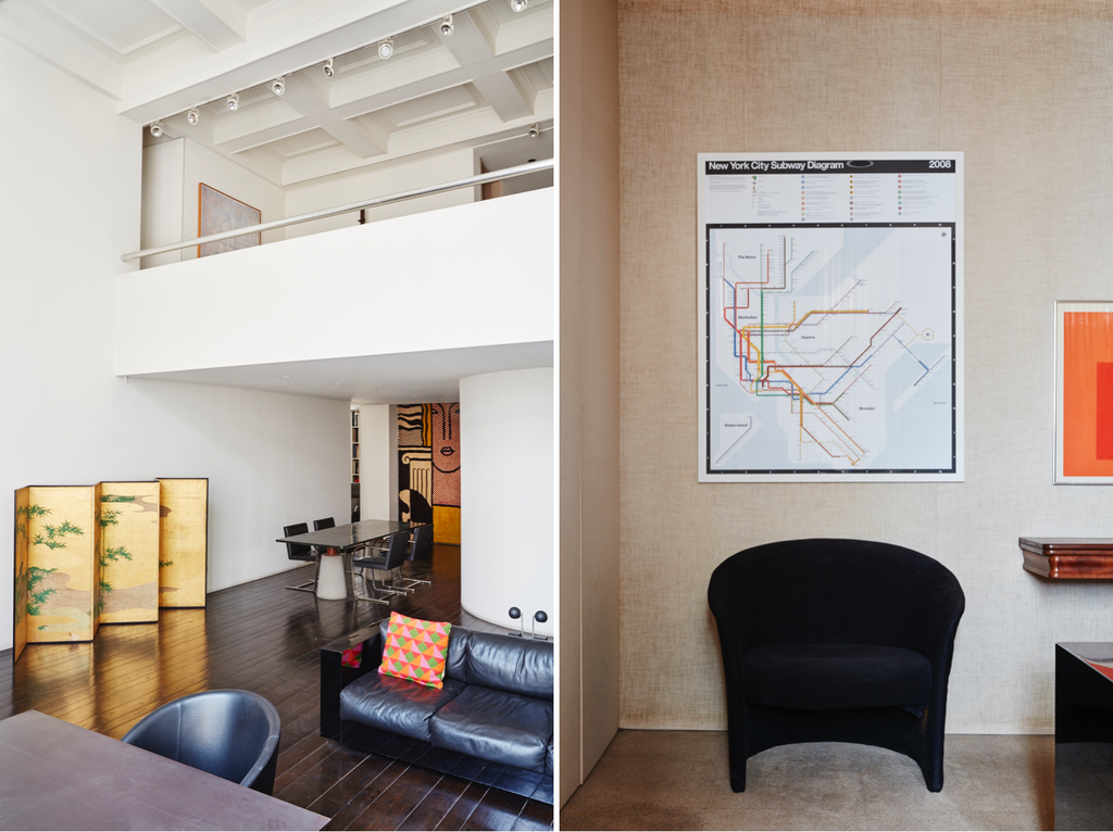 Inside the Vignelli apartment in New York City. Photo © Ngoc Minh Ngo