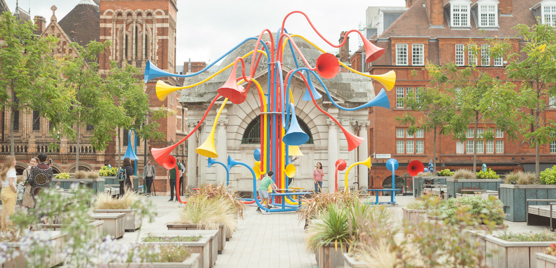 Sonic Bloom by Yuri Suzuki, curated by Alter-Projects. Photo © Alberto Balazs