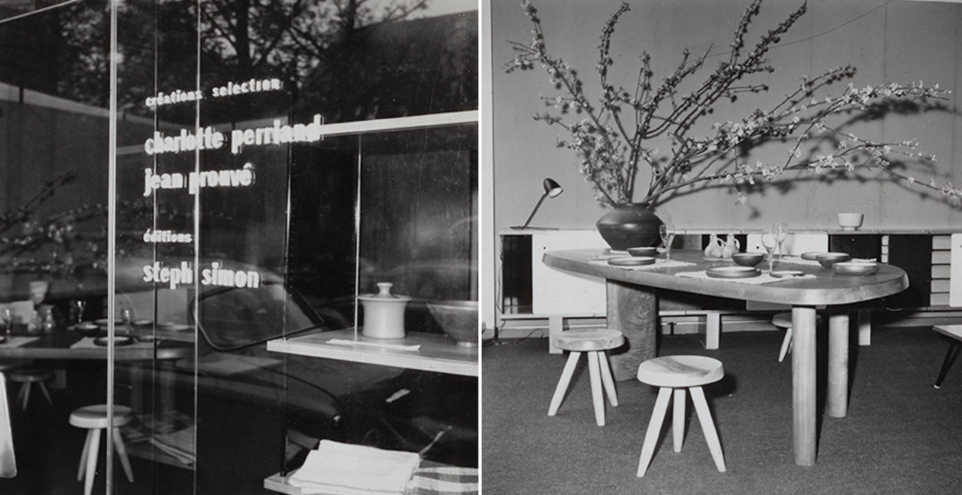 Vintage photographs of Steph Simon Gallery. Courtesy of LAFFANOUR-Galerie Downtown