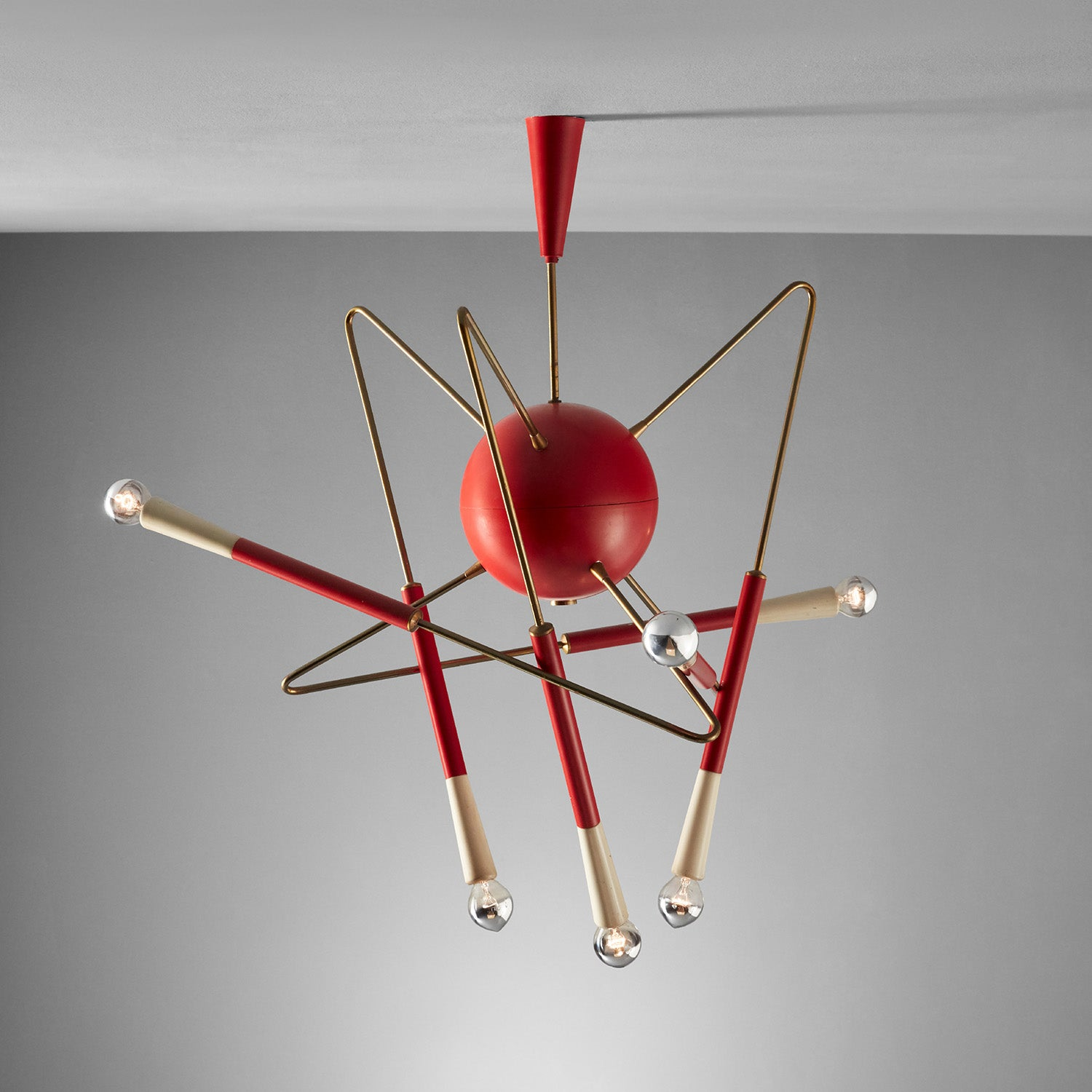 Ceiling Light by Stilnovo sold at Phillips New York in July for $25,000. Photo © Phillips