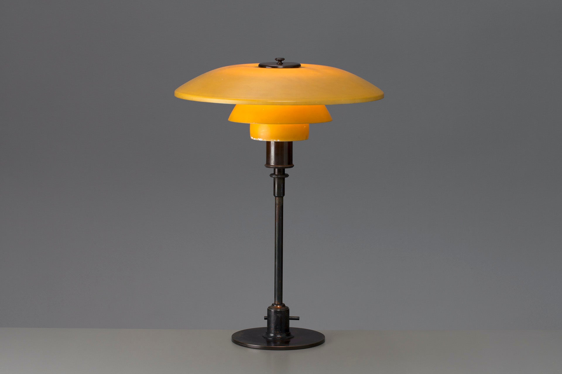 PH 4/3 Table Lamp by Poul Henningsen, 1920s. Photo © Jacksons
