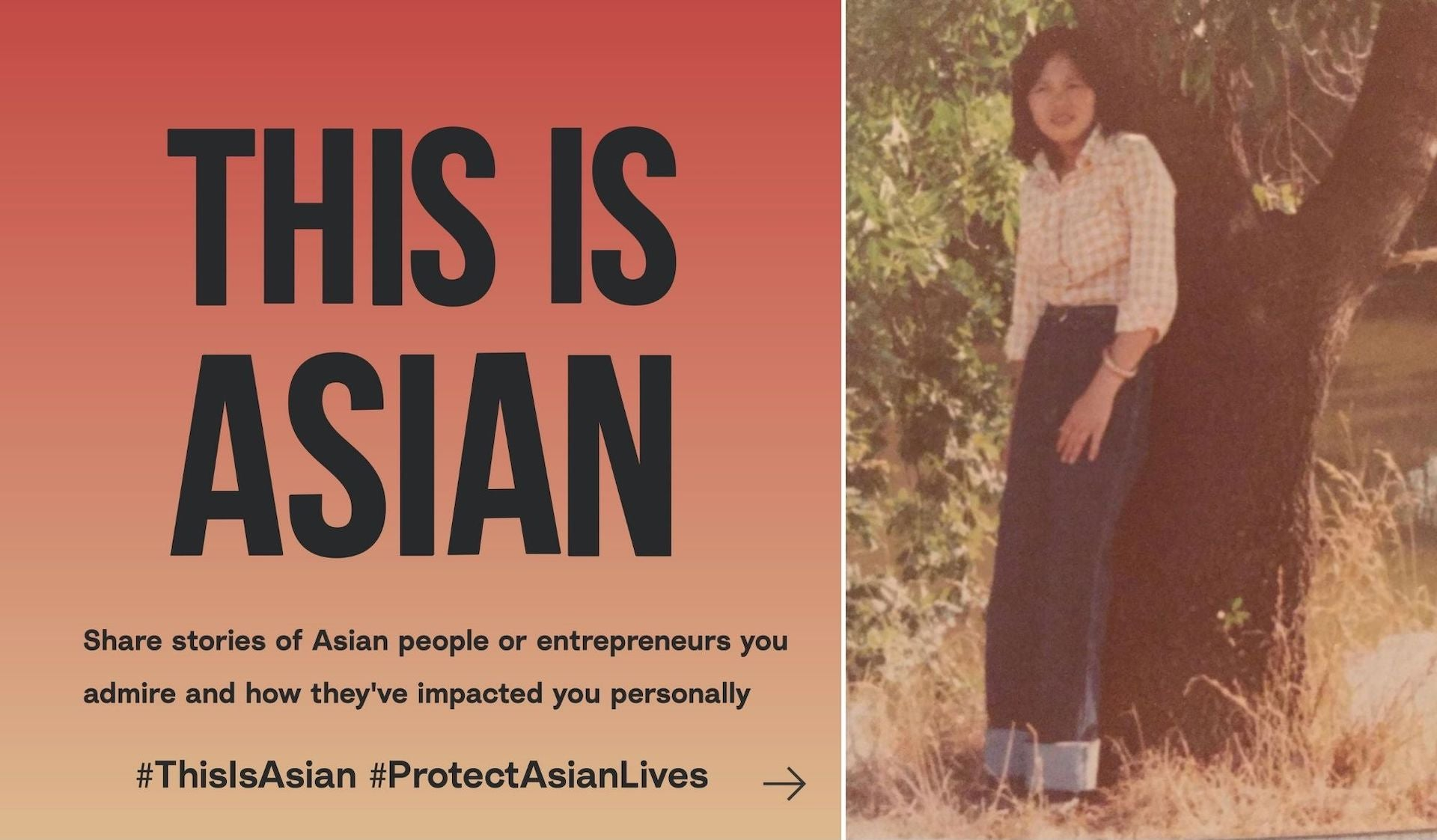 """Jenny Nguyen's #ThisIsAsian Instagram post recounts the incredible refugee story of her own mother (pictured here). """"To give you insight into what resilience looks like, in particular Vietnamese-Australian resilience,"""" Nguyen writes."""