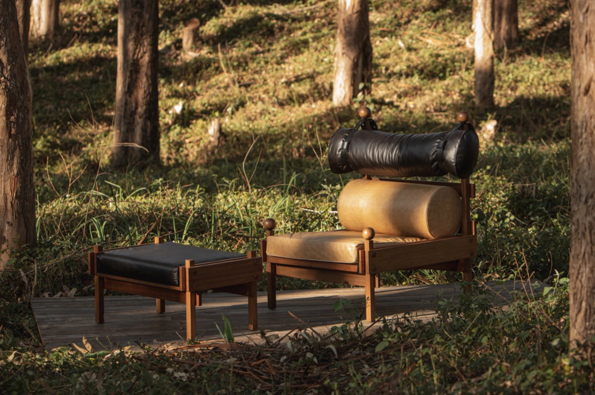 """Tonico Lounge Chair by Sergio Rodrigues, 1963. """"I love the work of Sergio Rodrigues,"""" Fogale says, """"and this particular image for me illustrates the perfect ingredients for South American design: honest materials, comfort, and nature."""" Photo © Espasso"""