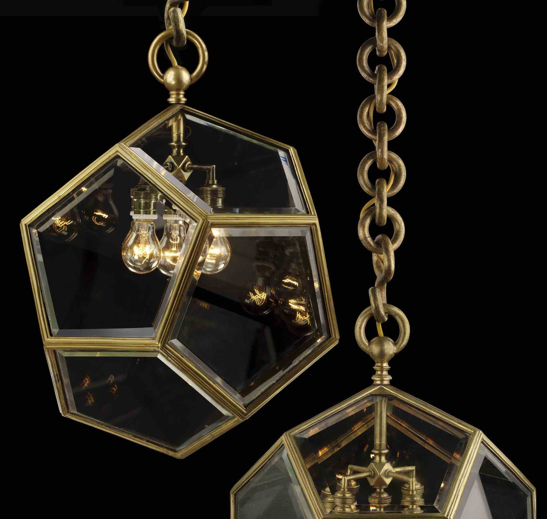 Hanging Lamp by Adolf Loos for F.O. Schmidt, c. 1901. Photo © Pasodoble