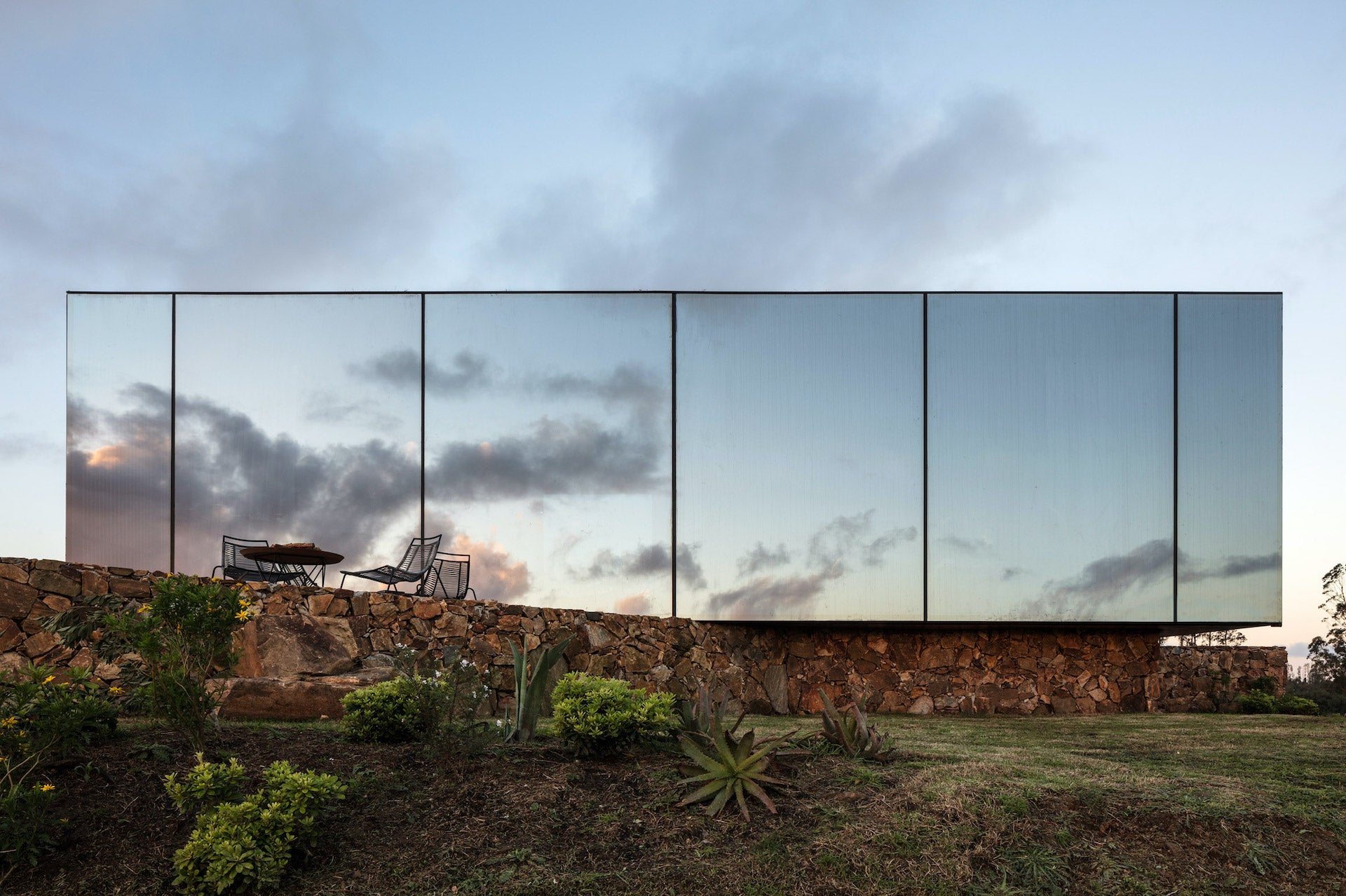 """Sacromonte Landscape Hotel in the Carape Mountain Range by MAPA. Fogale says: """"This project in my hometown Maldonado is a great example of the inclusion of nature and wellbeing in our lives as well as what Uruguayan design and architecture can achieve."""" Photo © MAPA Arquitectos"""