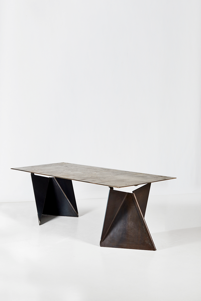Xandre Kriel Vos Altar Table with bronze top