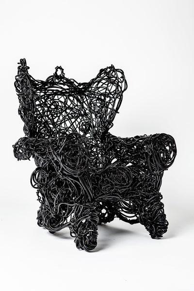 Forrest Myers Wingback Chair