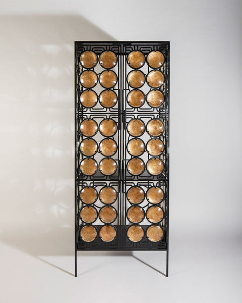 Christophe Côme Honey Silver Cabinet