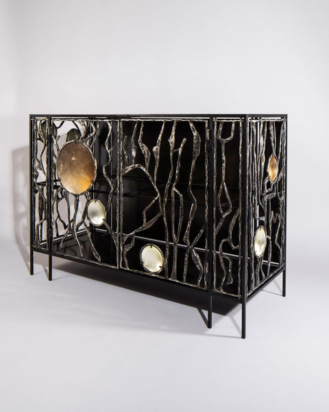 Christophe Côme Wrought Iron Cabinet