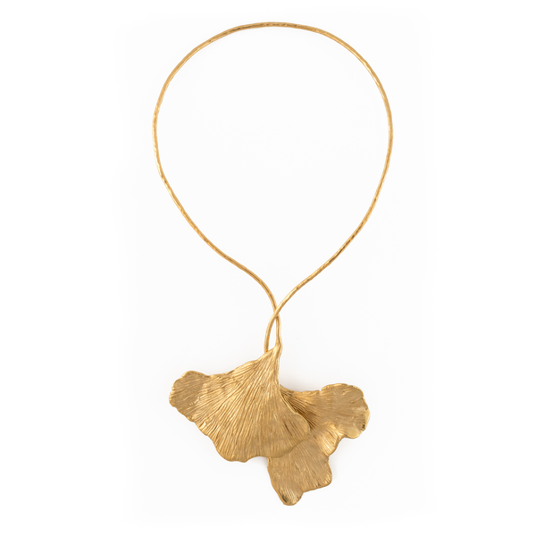 Ania Guillaume Ginkgo Necklace