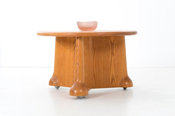 Wendell Castle Table on Wheels