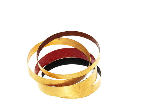 Giampaolo Babetto Gold and Pigment Bracelet
