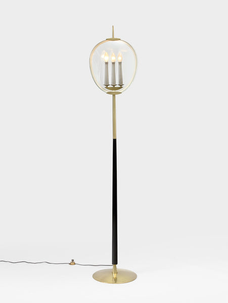 Max Ingrand Trident Floor Light
