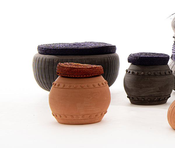 Irthi x Creative Dialogue Safeefah x Clay Crafts Dialogue Collection - Low Seat in Beige Clay