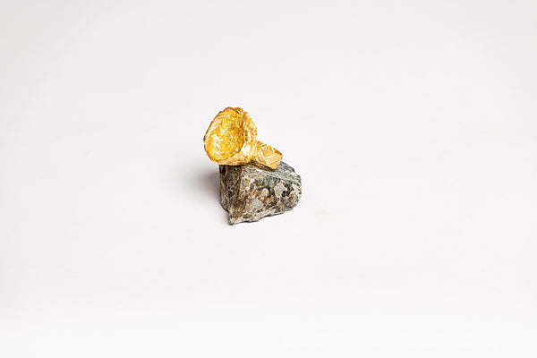 "Irthi Safeefah x Gold Casting Design Labs Collection - ""Hanoona"" Ring"