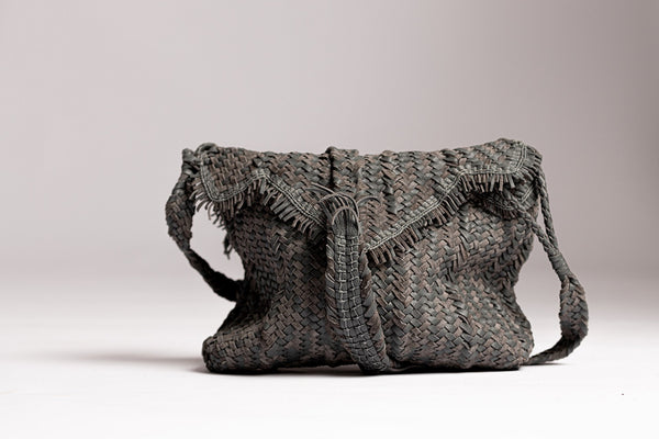 Irthi Safeefah x Camel Leather Bags Design Labs Collection - Safeefah Desert Bag (grey)