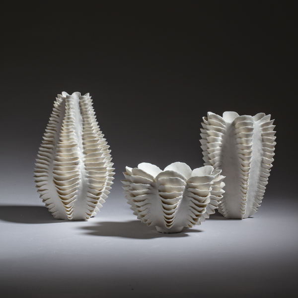 Sandra Davolio Three Sculptural Vessels