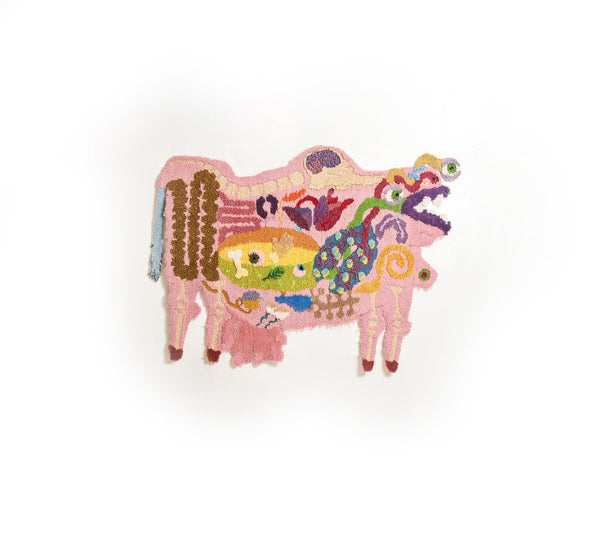 Nick Weddell Cow Rug