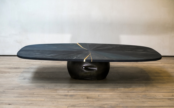 Shuji Nakagawa Mokkougei Indigo Low Table