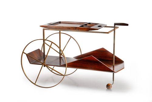 Jorge Zalszupin Tea Cart