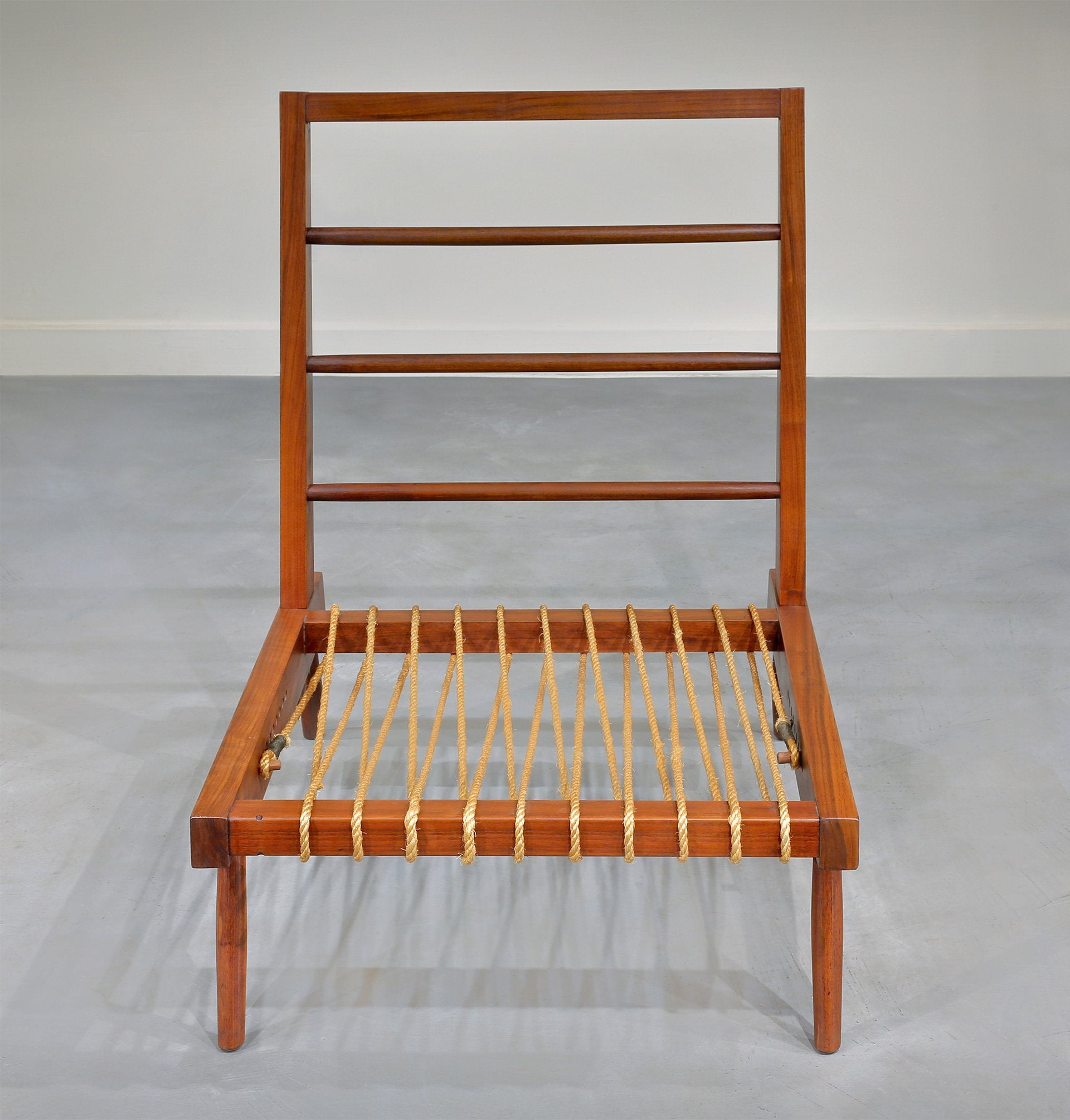 George Nakashima Prototype Cushion Lounge Chair