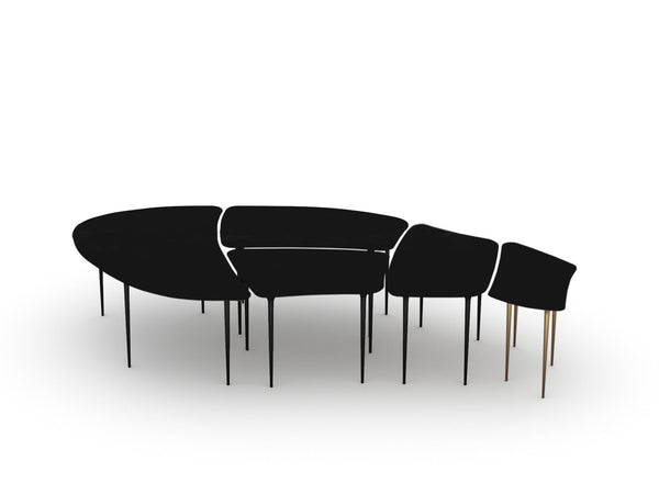 Locatelli Partners Atollo configurable table