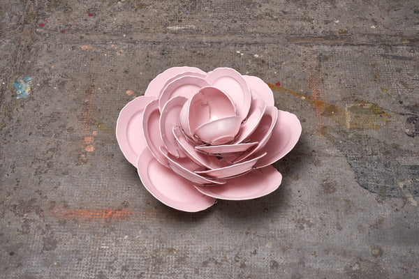 David Bielander Rose Dish Centerpiece