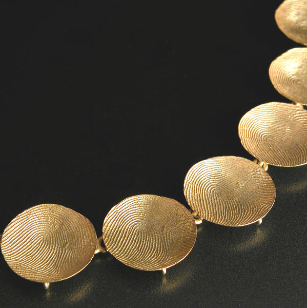 Gerd Rothmann Gold Fingerprint Necklace