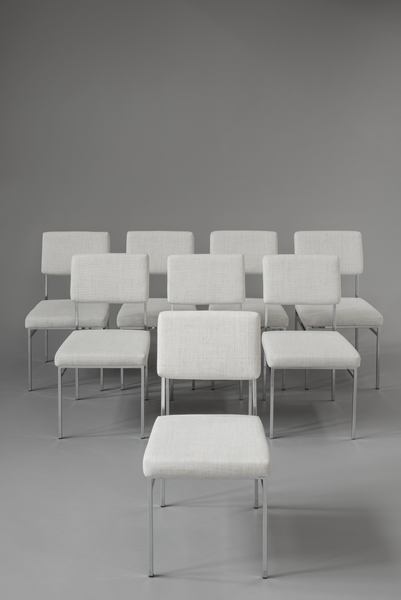 Antoine Philippon & Jacqueline Lecoq Set of 8 Chairs P60