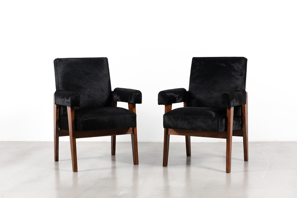Pierre Jeanneret Pair of Advocate Chairs