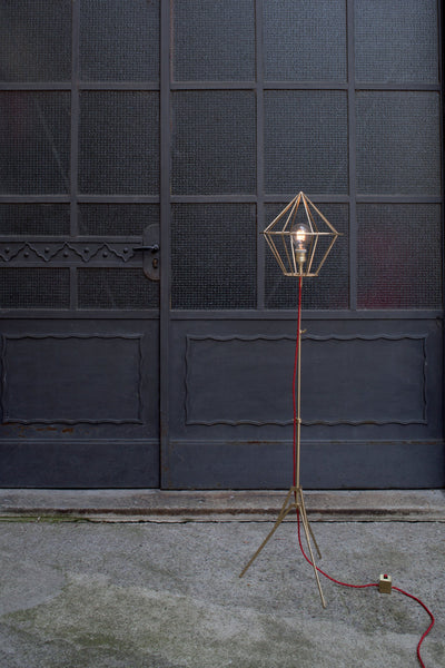 Atelier Biagetti Black Diamond Bay floor lamp