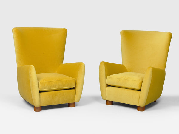 Jean Royère Copenhague Pair Of Armchairs