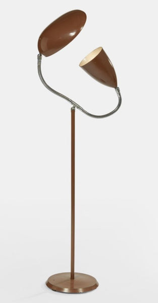 "Greta Magnusson Grossman ""Grasshopper-Cobra"" Floor Lamp"