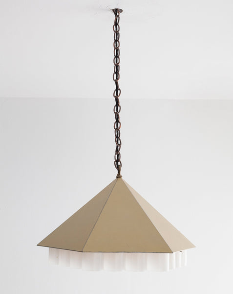"Lucia DeRespinis ""Beehive Pendant Lamp"" for George Nelson Associates"