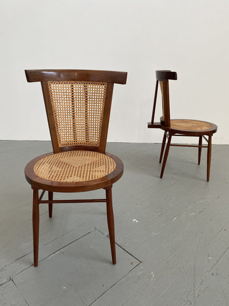 Joaquim Tenreiro Pair of Small Chairs