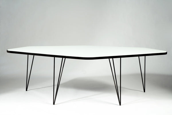 Joaquim Tenreiro Six Sided Table