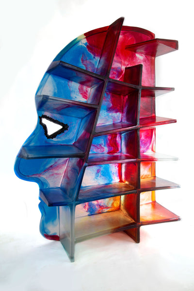 Gaetano Pesce Self-Portrait Shelf