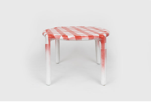 Thomas Barger Gingham Passion Table