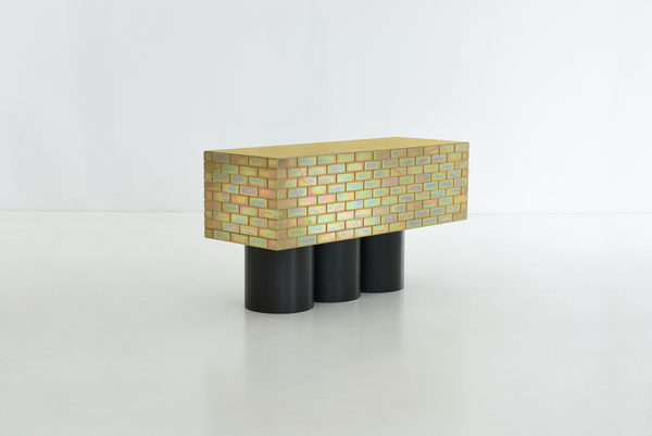 Gregor Jenkin A Piece Of Furniture Made Of Brick