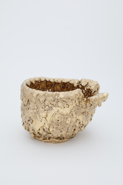 Takuro Kuwata Gold Tea Bowl 2