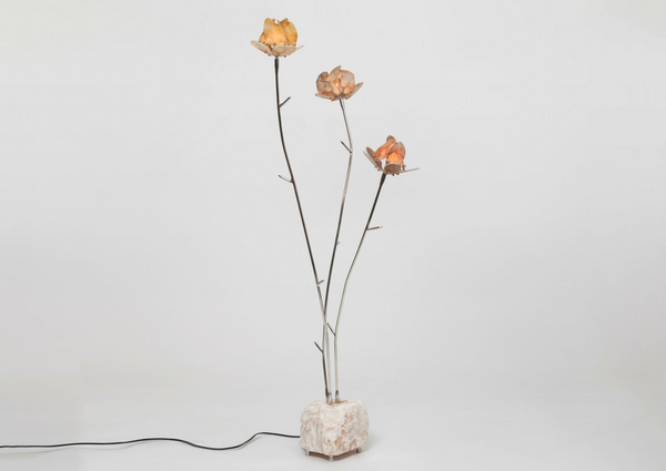 Chen Chen & Kai Williams Stone Rose Floor Light