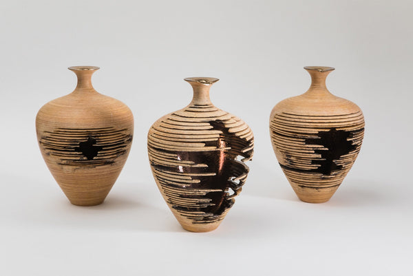 Marc Fish Relic Vessel Series Ash