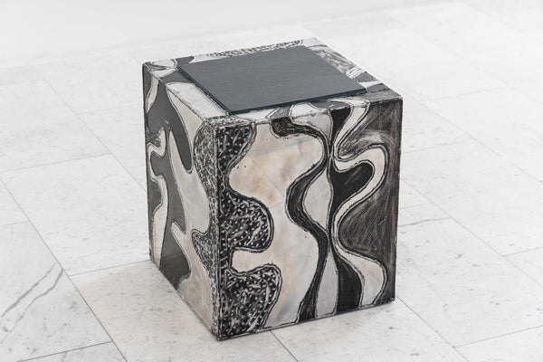 Paul Evans Argente Cube Table