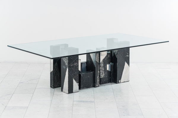 Paul Evans Argente Skyline Dining Table